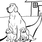 Printable Dog Coloring Page 2