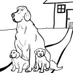 Printable Dog Coloring Page 2