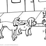 Printable Dog Coloring Page 5