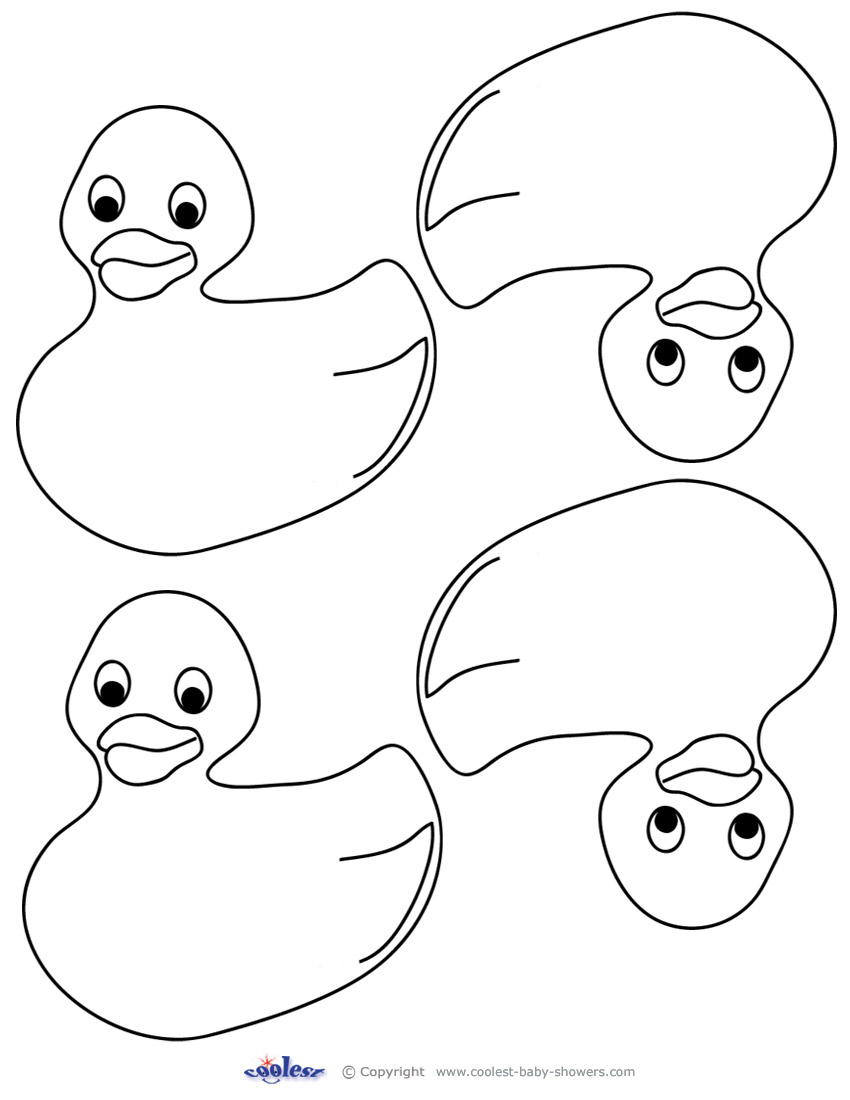 printable duck coloring pages - photo#32