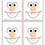 Blank Printable Elmo Thank You Cards