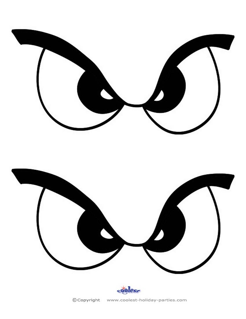 Medium Printable Eyes 1