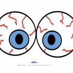 Large Printable Eyes 3