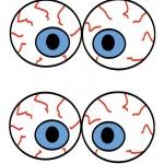 Medium Printable Eyes 3