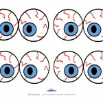 Small Printable Eyes 3