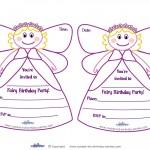 Printable Fairy Invitations