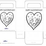 Printable B&W Love Valentine's Day Favorbag