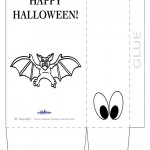 Large Printable Bat Favorbag