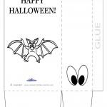 Large Printable Bat Favorbag
