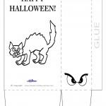 Large Printable Cat Favorbag