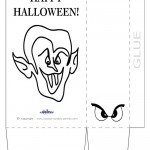 Large Printable Dracula Favorbag