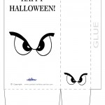 Large Printable Eyes 1 Favorbag