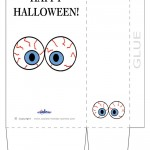 Large Printable Eyes 3 Favorbag