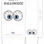 Large Printable Eyes 3 Favorbag