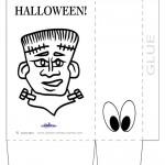 Large Printable Frankenstein Favorbag