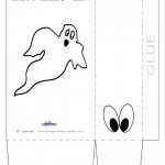 Large Printable Ghost Favorbag