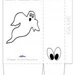 Large Printable Ghost Favorbag
