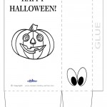 Large Printable Pumpkin 1 Favorbag