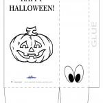 Large Printable Pumpkin 2 Favorbag