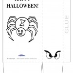 Large Printable Spider Favorbag