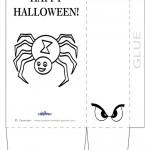 Large Printable Spider Favorbag