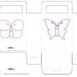 Printable Butterfly Favorbag