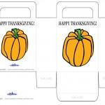 Printable Colored Pumpkin 2 Favorbag
