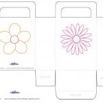 Printable Flower Favorbag
