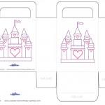 Medium Printable Castle Favorbag