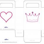 Medium Printable Crown Favorbag