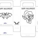 Medium Printable Dracula / Bat Favorbag