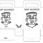Medium Printable Frankenstein Favorbag