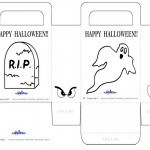 Medium Printable Gravestone / Ghost Favorbag
