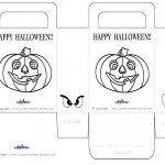 Medium Printable Pumpkin 1 Favorbag