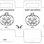 Medium Printable Pumpkin 2 Favorbag