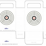 Medium Printable Target 1 Favorbag