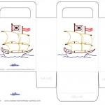 Printable Ship Favorbag