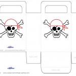 Printable Skull Favorbag