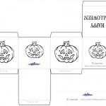 Printable Pumpkin 2 Favorbox