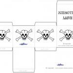 Printable Skull Favorbox