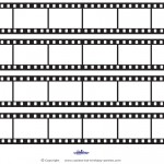 Printable Film Strip Decoration