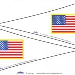Printable American Flags