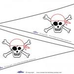 Printable Skull Flags