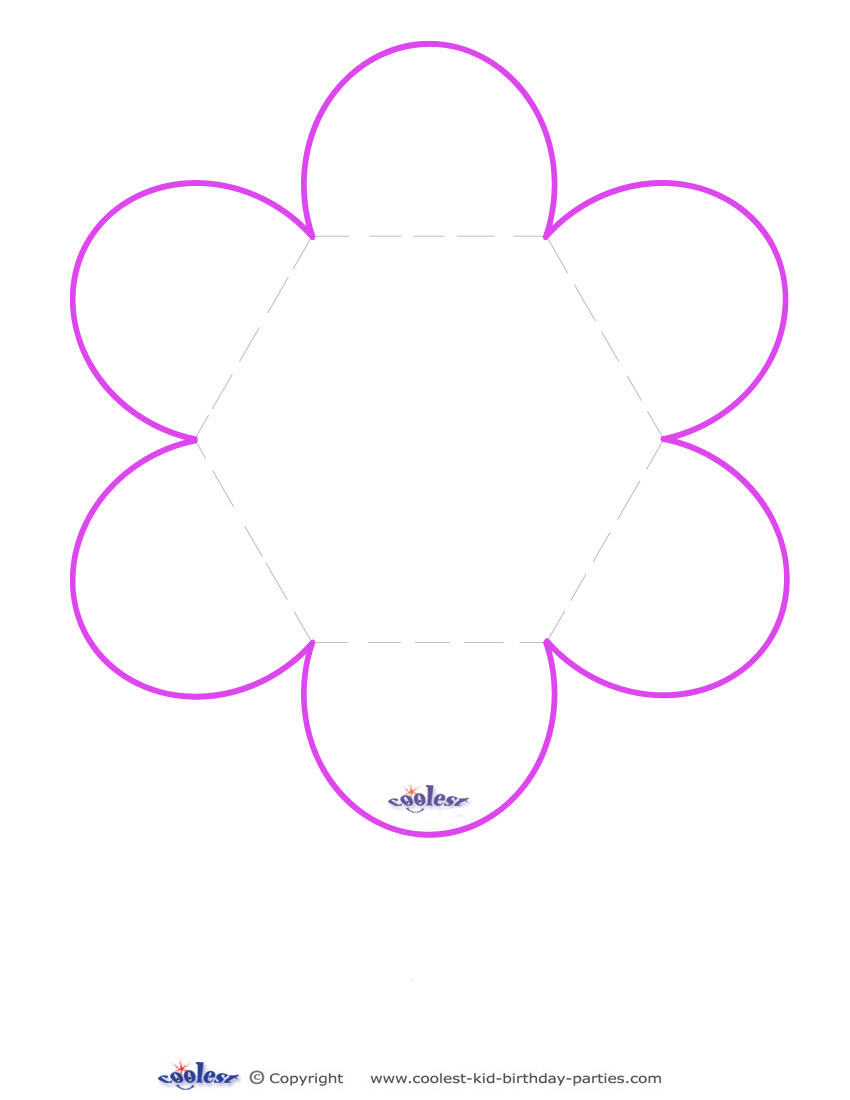 Flower Pattern Template Spring Flower Templates