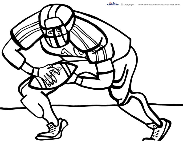 football piches colouring pages