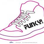 Printable Funky Shoe Decoration