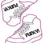 Small Printable Funky Shoe Decoration