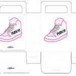 Printable Funky Shoe Favorbag
