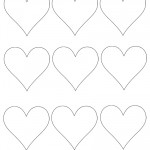 Printable Heart Cut Out 5