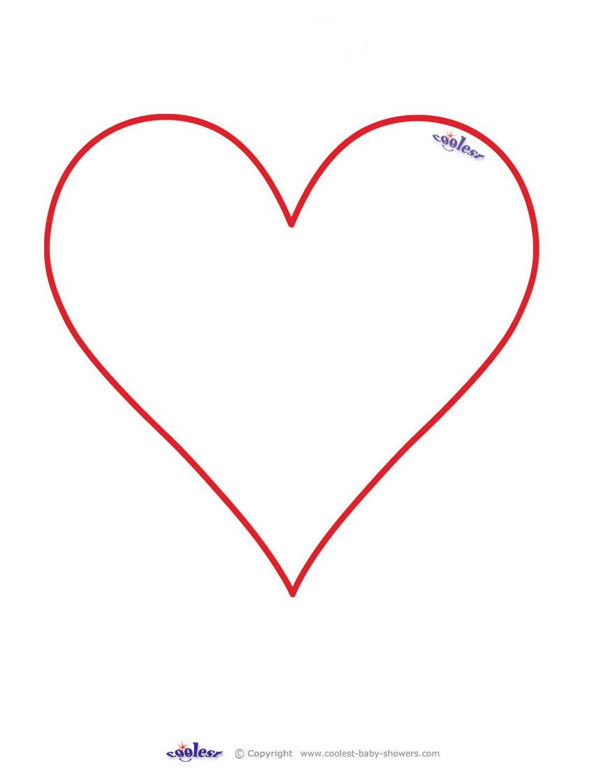 Blank Printable Heart Invitations - Coolest Free Printables